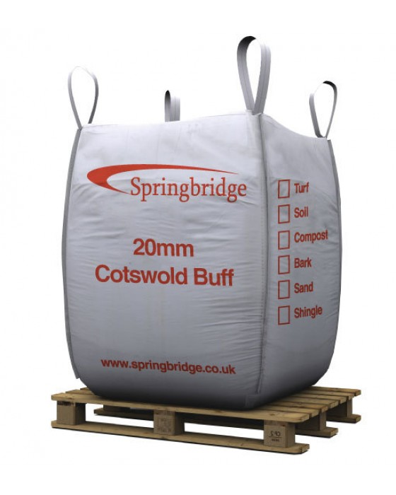 20mm Cotswold Buff Bulk Bag