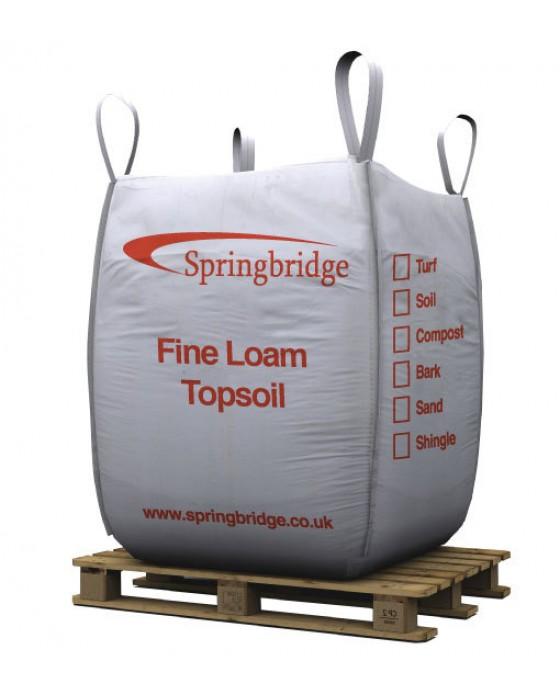 Fine Loam Topsoil Bulk Bag