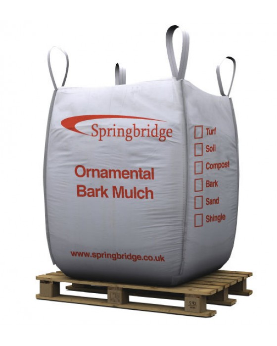 Ornamental Bark Mulch Bulk Bag