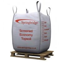 Screened Economy Topsoil Bulk Bag