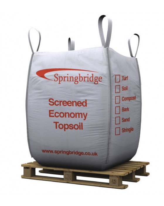 Screened Economy Topsoil Bulk Bag