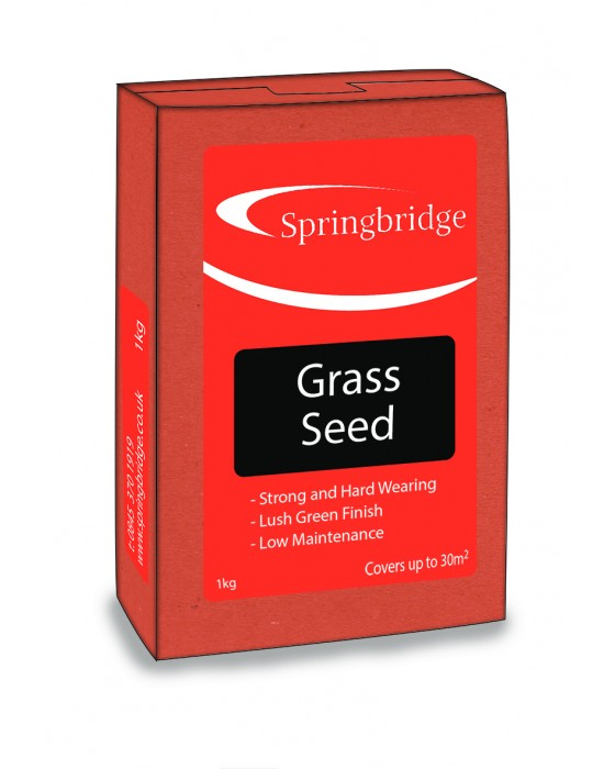Multi Purpose Grass Seed 1KG Bag